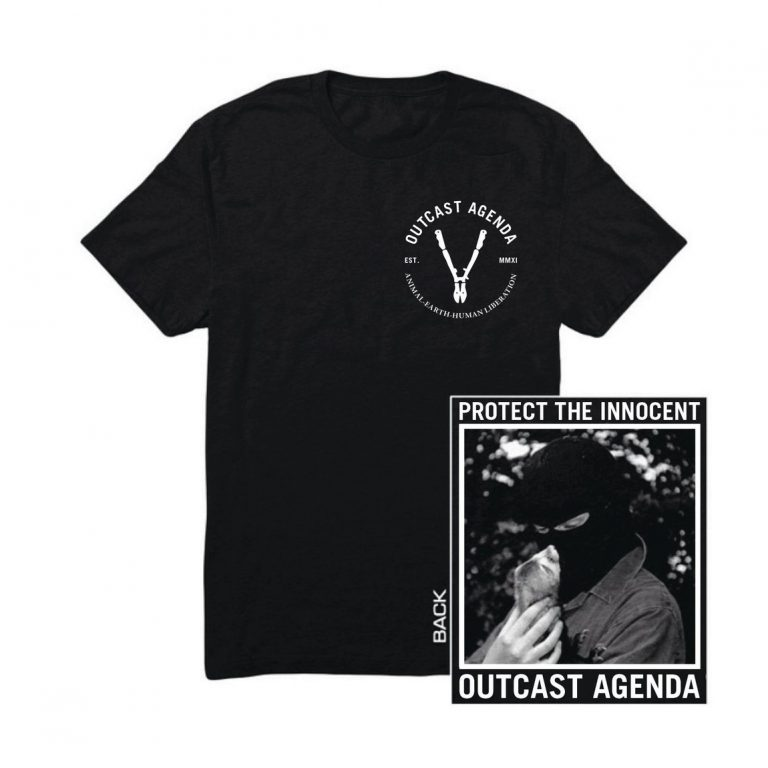 Outcast Agenda Protect the Innocent Tee