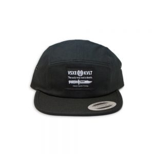 Outcast Agenda KVLT Five Panel Black