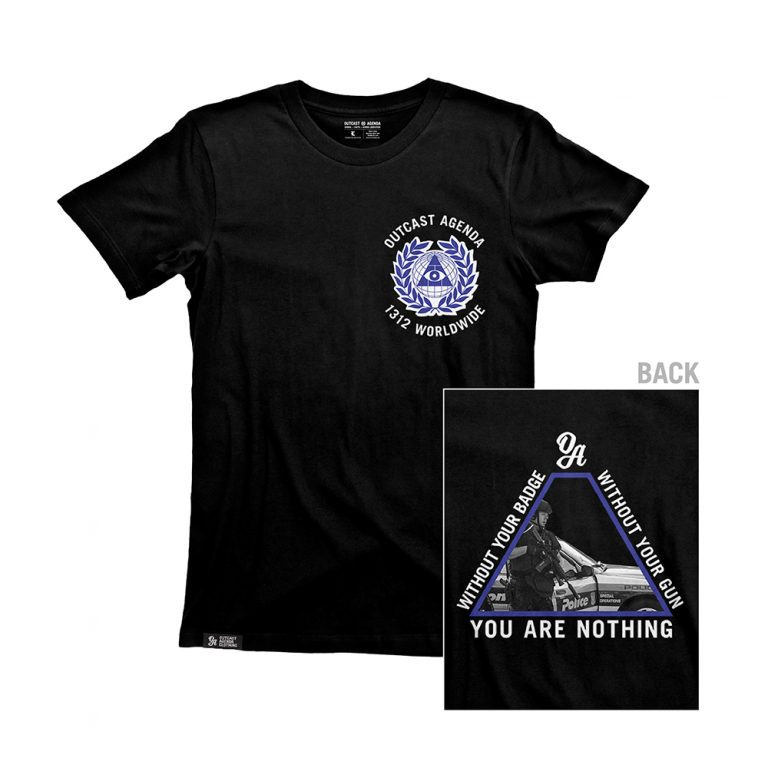 Outcast Agenda You're Nothing Tee